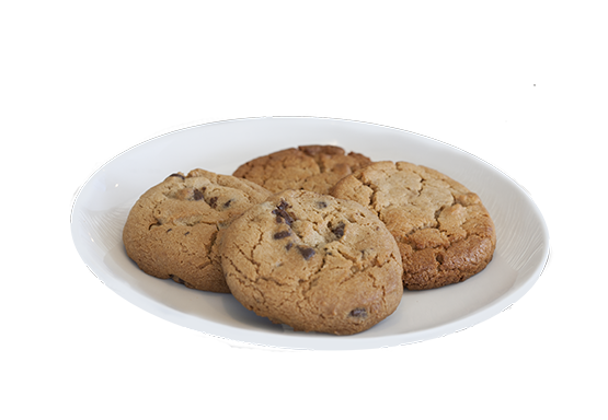 gourmet fresh baked cookies 2 for